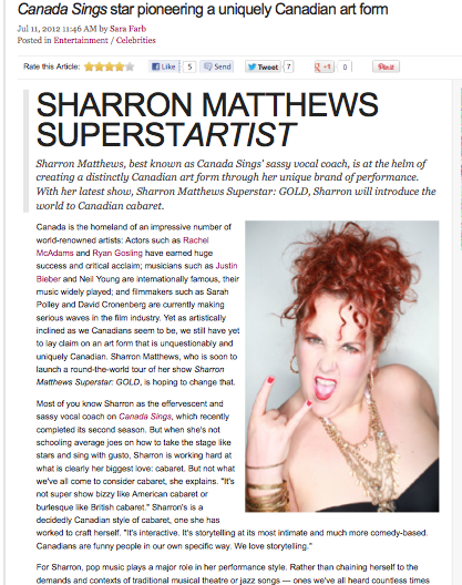 Sharron Matthews – Articles