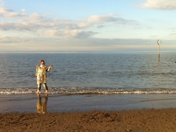 Me in the North Sea