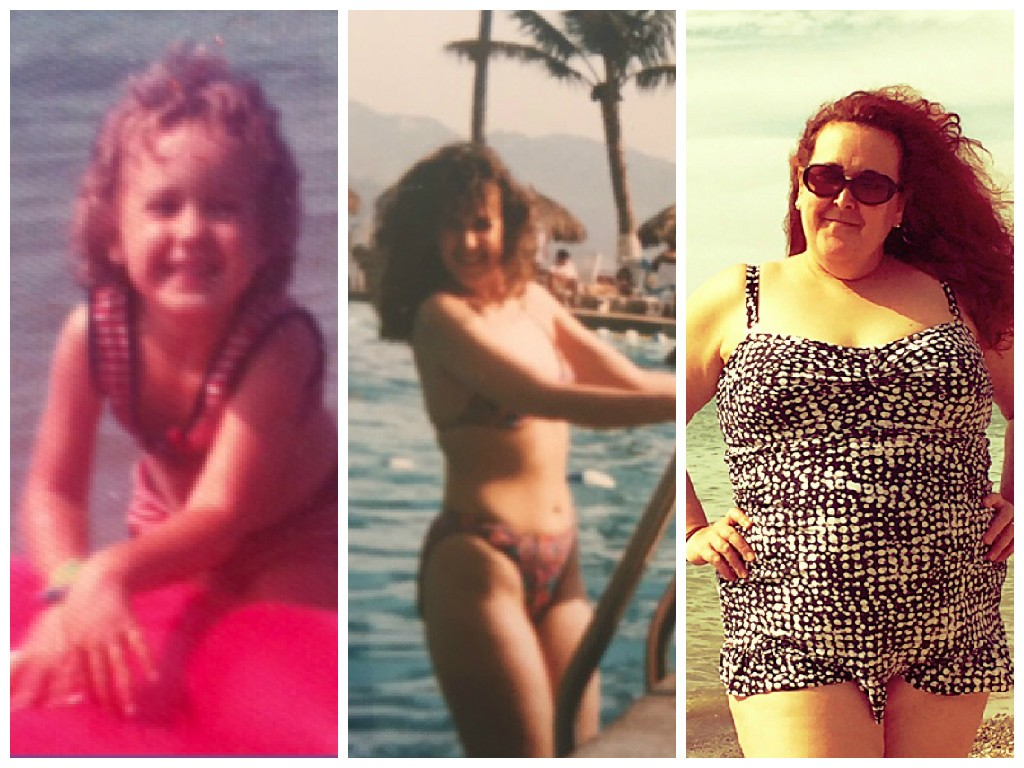 Beach then then and now