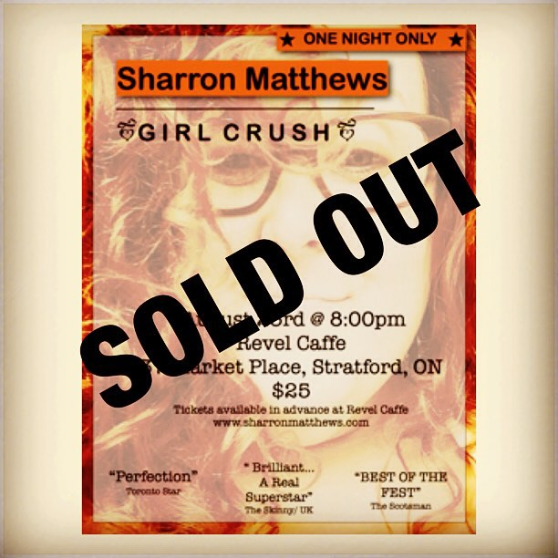 SOLD OUT GIRL CRUSH
