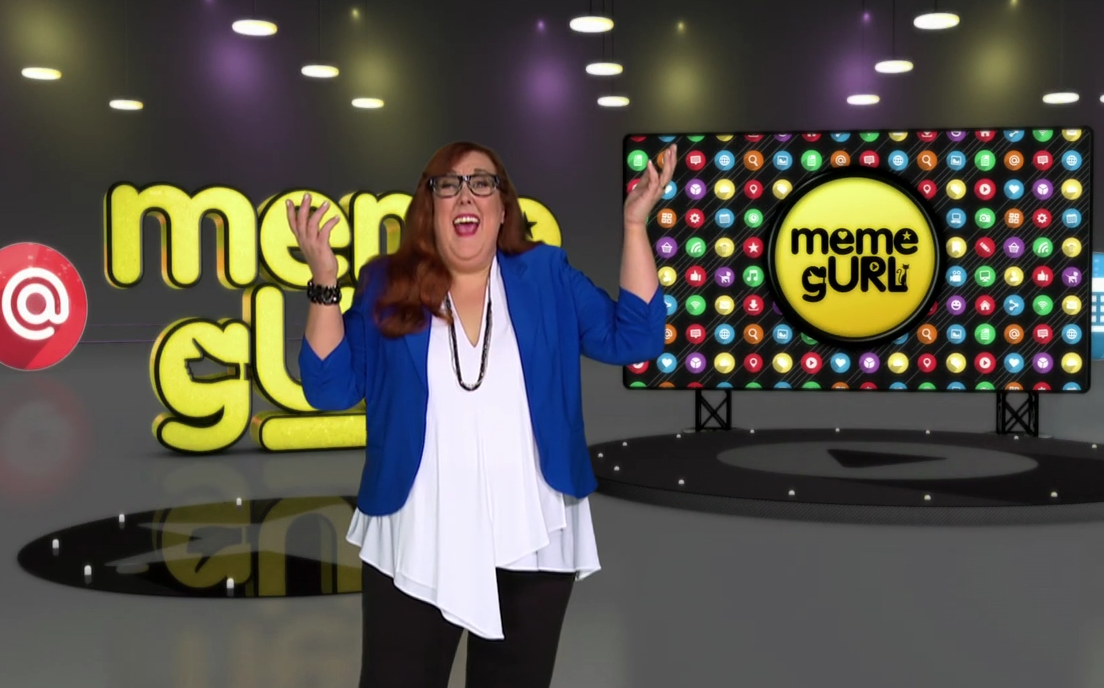 Sharron hosts MEME gURL on SLICE TV June 25th and 26th !!!