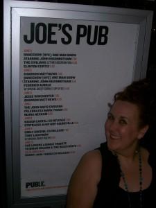 Me in front Joe's